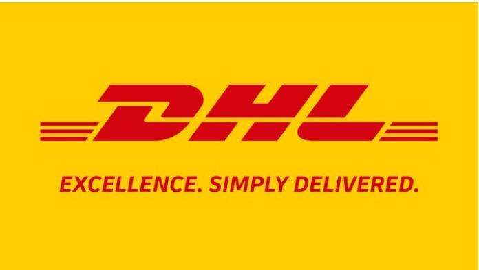 100 anuncios publicitarios con eslogan: Mejores slogans. DHL: Excelencia. Simplemente entregada.