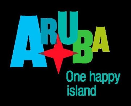 100 anuncios publicitarios con eslogan: Mejores slogans. Aruba: Una isla feliz.