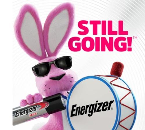 100 anuncios publicitarios con eslogan: Mejores slogans. Pilas Energizer: todavía adelante.