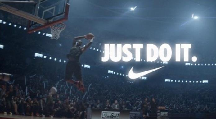 100 anuncios publicitarios con eslogan: Mejores slogans. Nike: Simplemente hazlo.