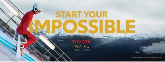 100 anuncios publicitarios con eslogan: Mejores slogans. Toyota: Pon en marcha tu imposible.