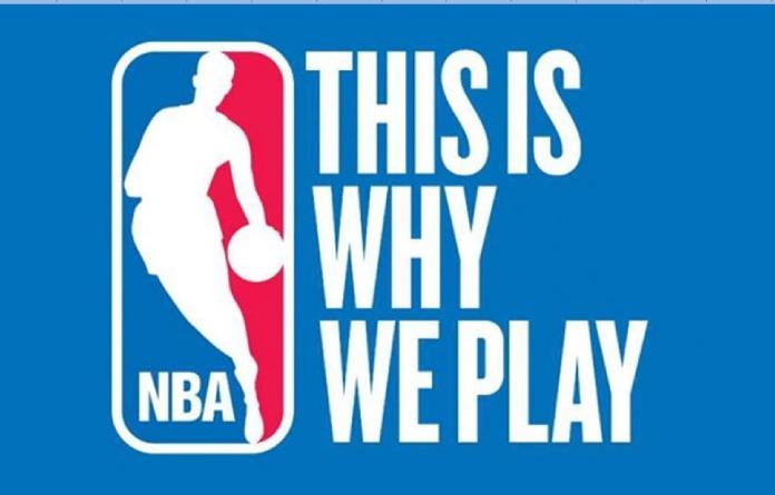 100 anuncios publicitarios con eslogan: Mejores slogans. NBA: Por eso jugamos.