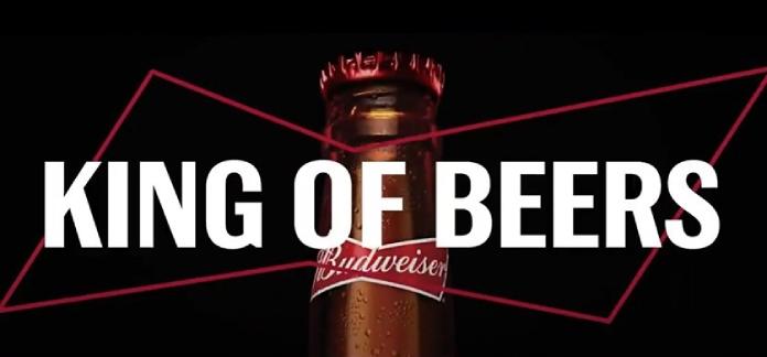 100 anuncios publicitarios con eslogan: Mejores slogans. Budweiser: rey de las cervezas.