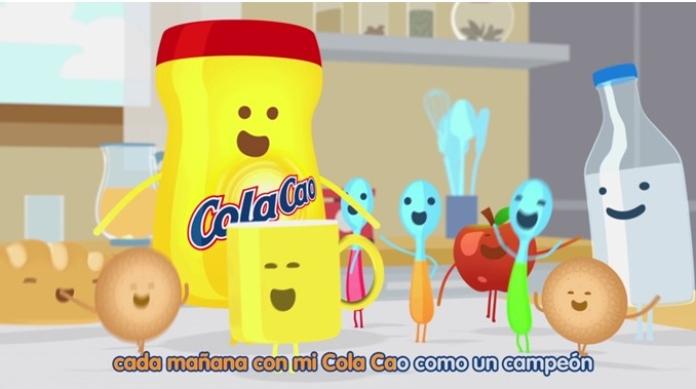 100 anuncios publicitarios con eslogan: Mejores slogans. Cola Cao: como un campeón.