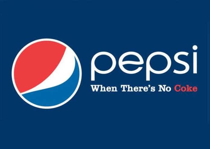 100 anuncios publicitarios con eslogan: Mejores slogans. Pepsi cuando no hay Coke.