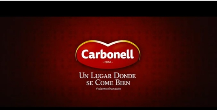 100 anuncios publicitarios con eslogan: Mejores slogans. Aceite Carbonell. Un lugar donde se come bien.