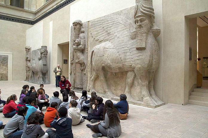 Museo del Louvre, París, Francia.