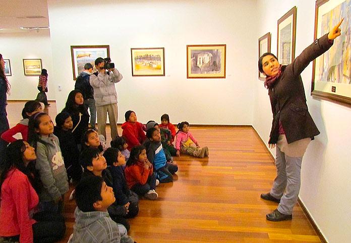 Visita guiada en el Centro Cultural Británico de Miraflores