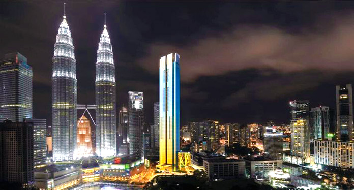 Four Seasons Place Kuala Lumpur en Kuala Lumpur, Malasia