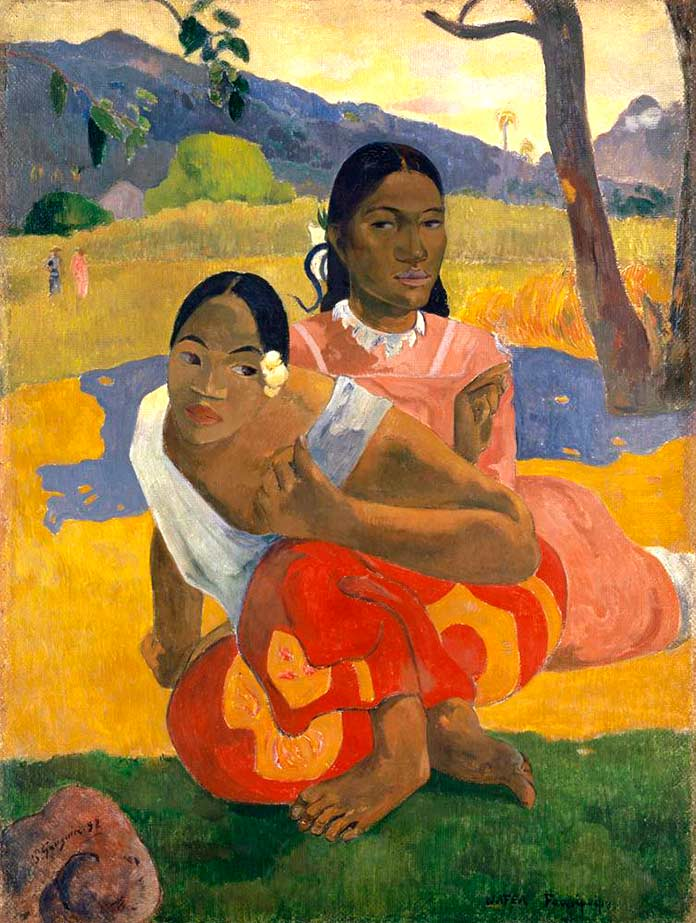 'Nafea Faa Ipoipo (When Will You Marry?)' de Paul Gauguin