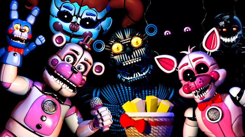 Robots animatrónicos de Five Nights at Freddy's