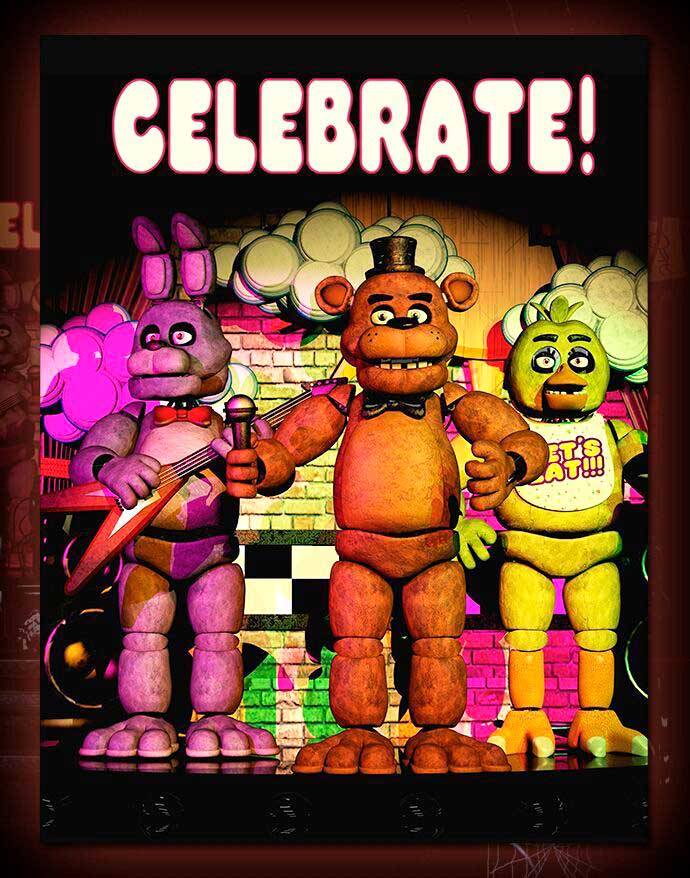 Póster de Five nights at Freddy's