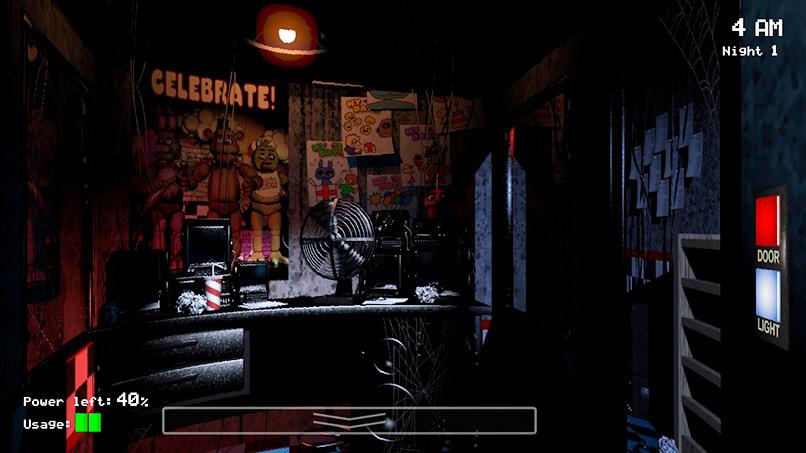 Oficina del guarda de seguridad (5 noches en Freddy's)