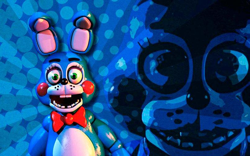 El conejo Bonnie.
