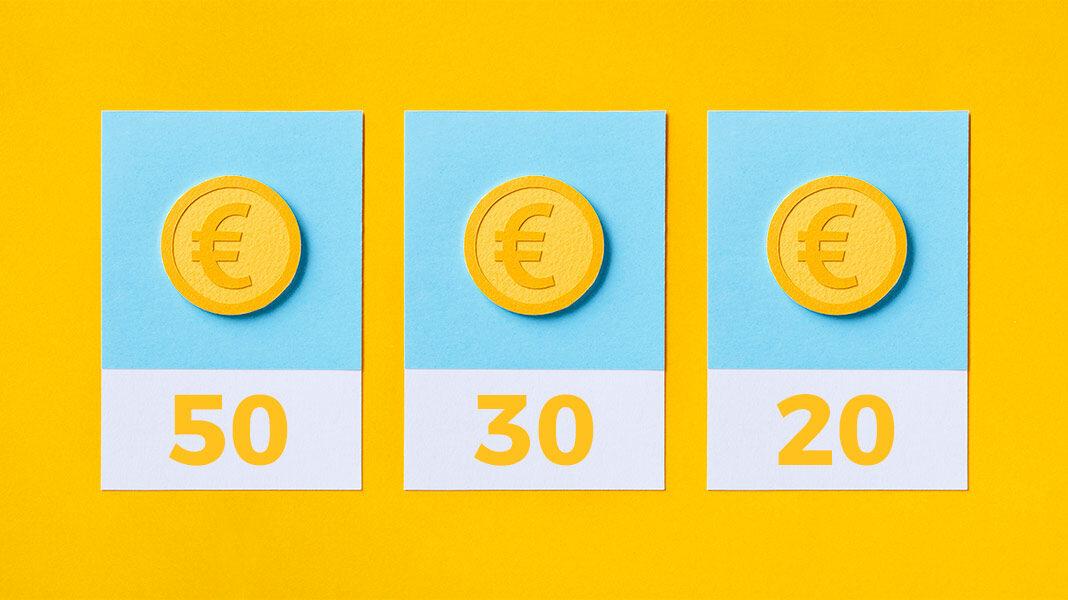 La regla del 50-30-20: una táctica de ahorro eficiente para mejorar tu economía doméstica