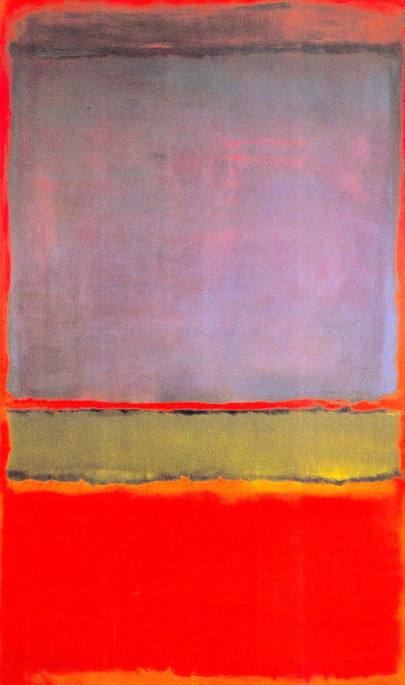 'No. 6 (Violet, Green and Red)', de Mark Rothko