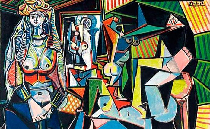 'Les femmes d'Alger', de Pablo Picasso