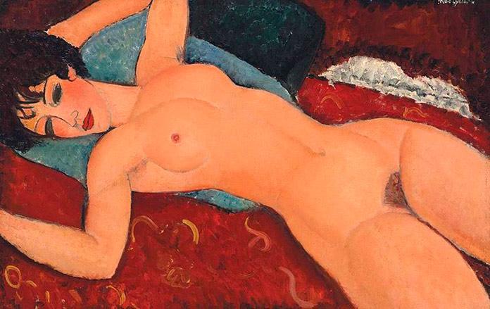 'Desnudo acostado', de Amedeo Modigliani.