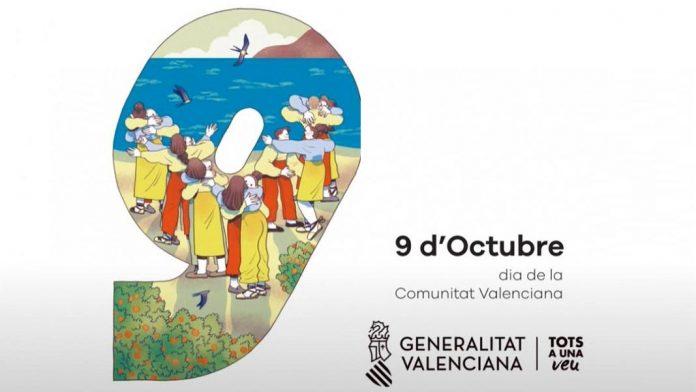 9 d'octubre, día de la Comunidad Valenciana