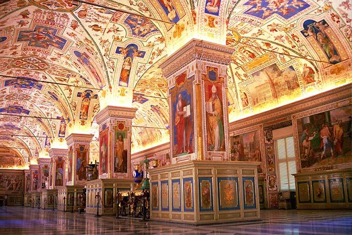 Museos Vaticanos, Roma, Italia.