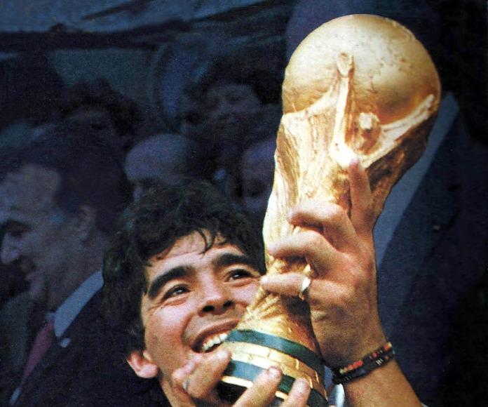 Abren el Museo de Maradona en una casa del futbolista