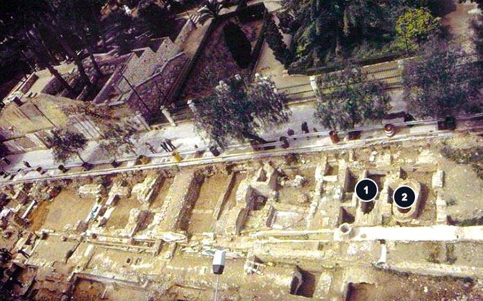Acequia abovedada de Mestalla y Pozo de la Noria