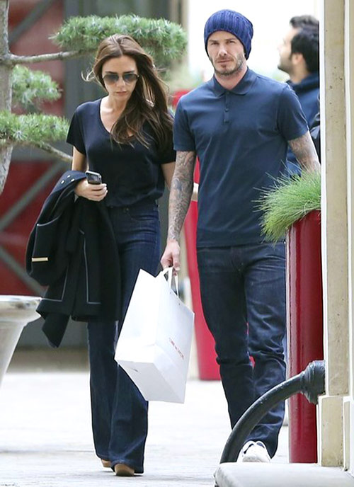 Adicta a las compras: David y Victoria Beckham