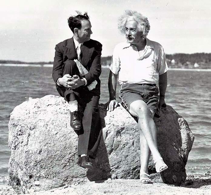 Albert Einstein durante el verano de 1939