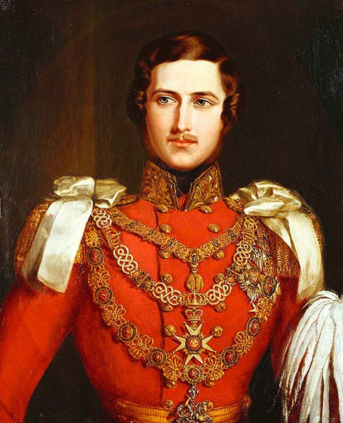 Retrato del príncipe Alberto