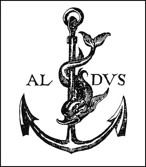 Emblema de Aldu Manutius