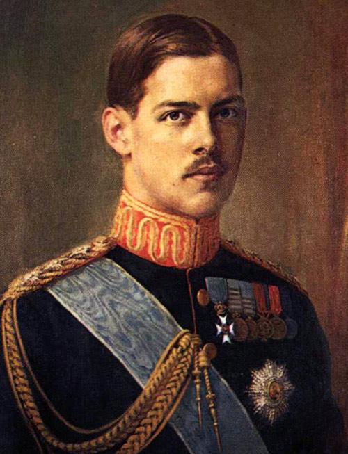 Retrato de Alejandro de Grecia I