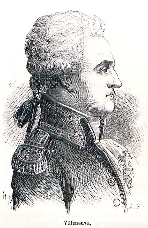Pierre Charles Silvestre de Villeneuve