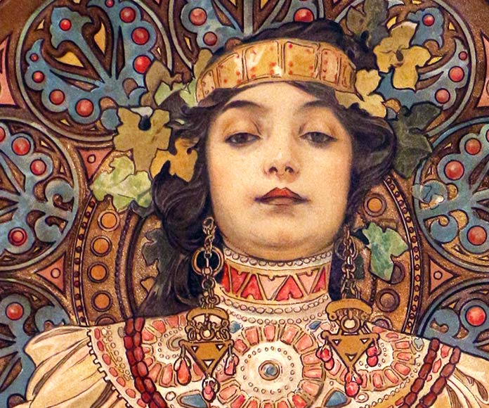 Alphonse Mucha o quien convirtió las artes gráficas en una de las bellas artes