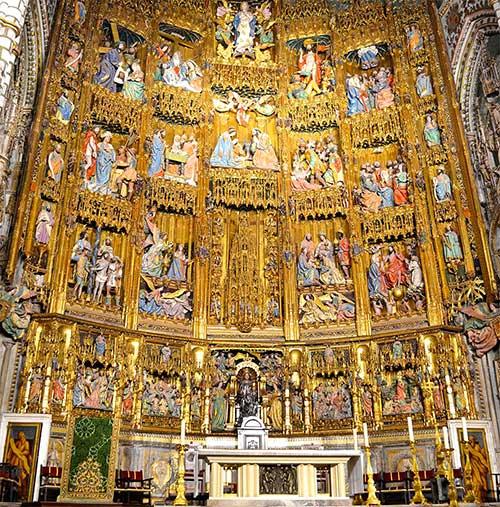 Altar mayor de la catedral de Toledo