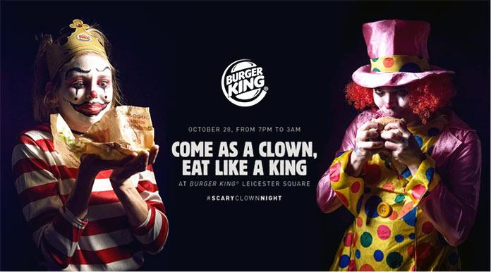 Anuncios publicitarios creativos: Burger king