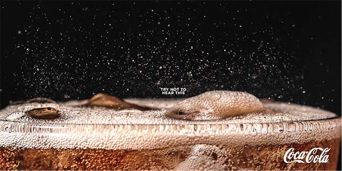 Anuncios publicitarios creativos: Coca-Cola