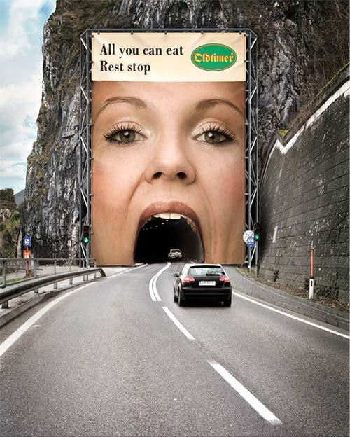 Anuncios publicitarios creativos: Oldtimer