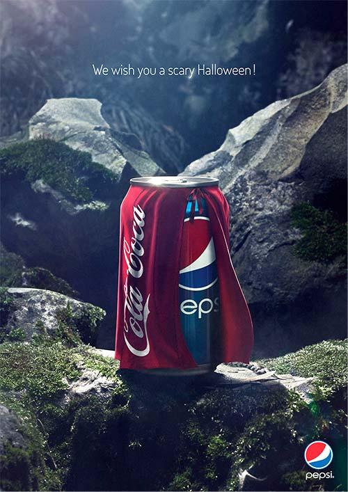 Anuncios publicitarios creativos: Anuncios publicitarios originales: Pepsi