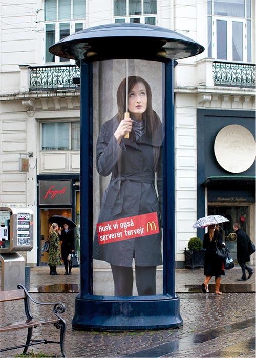 Anuncios publicitarios originales: Anuncios publicitarios creativos: McDonald´s