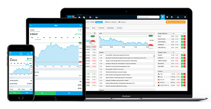 Apps para invertir en bolsa: DEGIRO