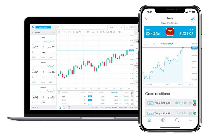 Apps para invertir en bolsa: Trading 212