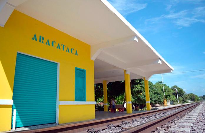 Estación de Aracataca.