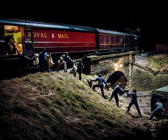 El asalto al tren de Glasgow