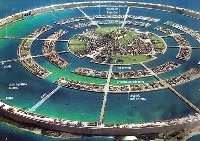 Atlántida: anillos ded agua