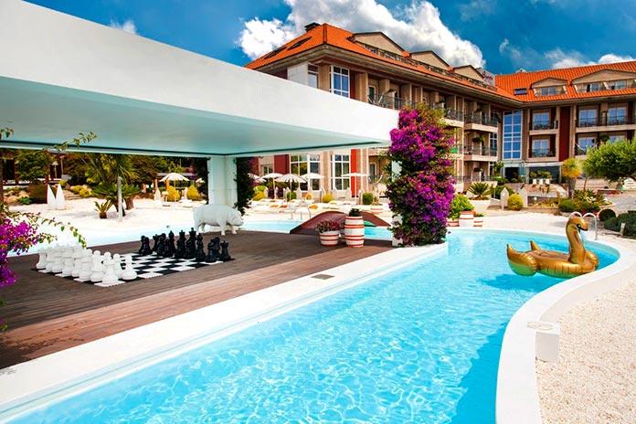 Augusta Spa Resort piscina