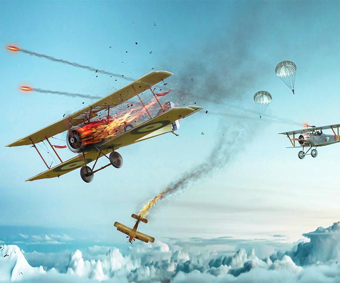 ¿Qué fue primero: el avión o el paracaídas? Piénsalo bien…