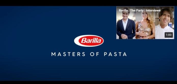 100 anuncios publicitarios con eslogan: Mejores slogans. Pastas Barilla: Maestros de la Pasta.