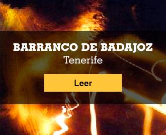 Historias de terror españolas - Banner - El Barranco de Badajoz, Tenerife