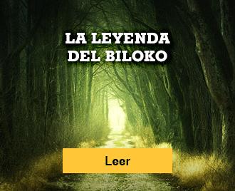 Historias de terror para no dormir - Banner - La leyenda del Biloko