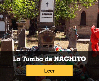 Historias de terror para no dormir - Banner - La tumba de Nachito